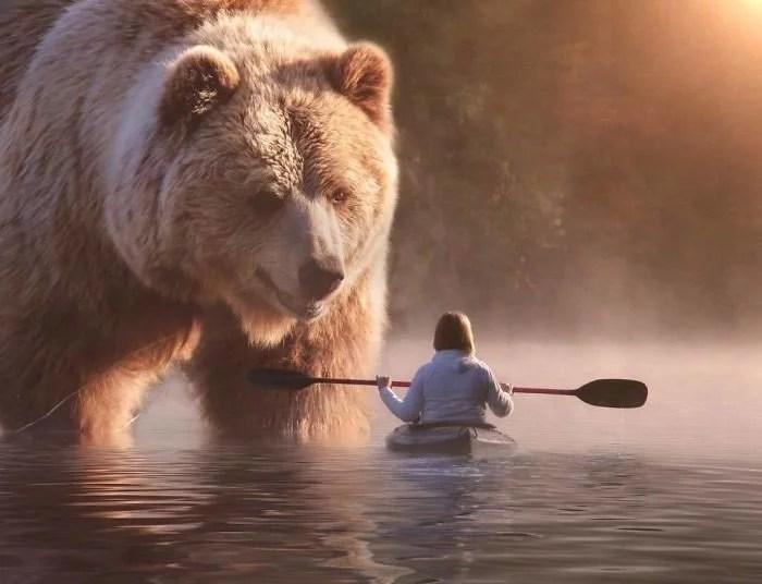 animals gigants 07 - Photoshop: Imagine um mundo com animais gigantes