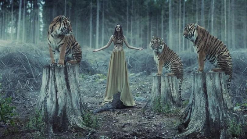 beleza feminina com um toque de surrealismo1 - Beleza feminina com um toque de surrealismo