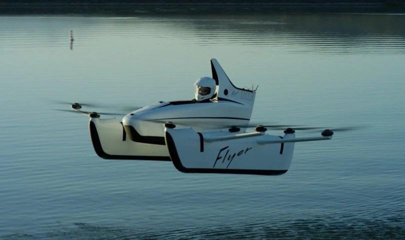 carro voador primeiro - Os carros voadores chegaram