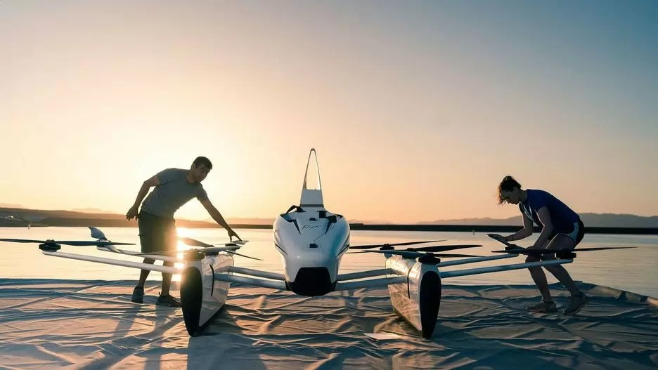 kitty hawk flyer carro que voa - Os carros voadores chegaram