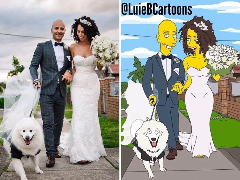 pessoas desenhadas como simpsons 19 - Você já pensou em se tornar um personagem do The Simpsons?