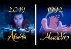 Comparação entre Aladdin - Comparação entre Aladdin de 1992 e o remake de 2019