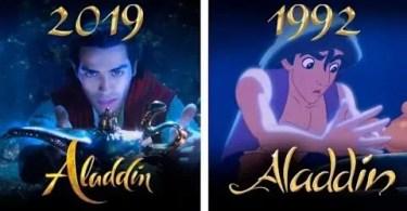 Comparação entre Aladdin - Pegadinha do SBT: O Procurado