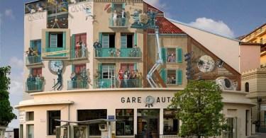casa francesa - Artista transforma Fusca de verdade em esferas perfeitas