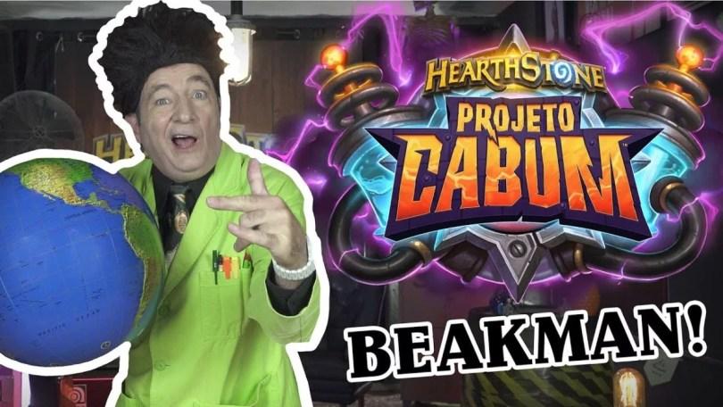 Relembre Beakman participando do Projeto Kabum do jogo Hearthstone  - Relembre Beakman participando do Projeto Kabum do jogo Hearthstone