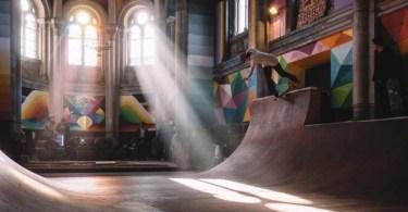 abandoned church skate park kaos temple okuda san miguel 6 - Palestra de Carlos Wizard: Os 7 Princípios chave para realizar seus sonhos