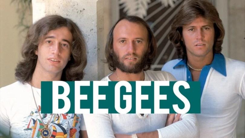 bee gees capa programa televisao - O dia em que os Bee Gees fixaram os britânicos frente a televisão