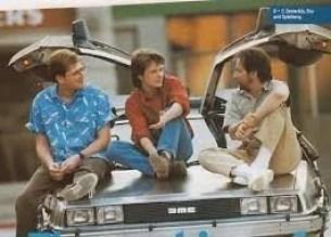 """de volta para futuro diretoresRobert Zemeckis e Bob Gale - Christopher Lloyd diz que toparia fazer """"De Volta para o Futuro 4"""" com uma condição"""