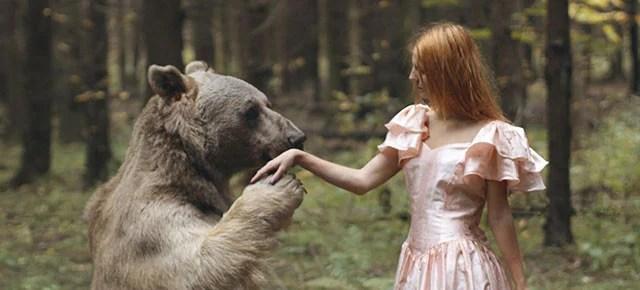 surreal animal human portraits katerina plotnikova thumb640 - Fotografias místicas: Pose de animais reais com seres humanos