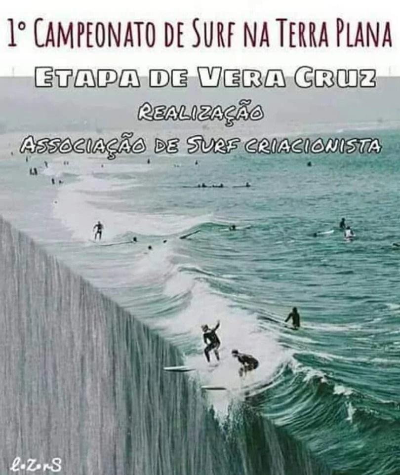 Brasileiros acreditam na Terra Plana