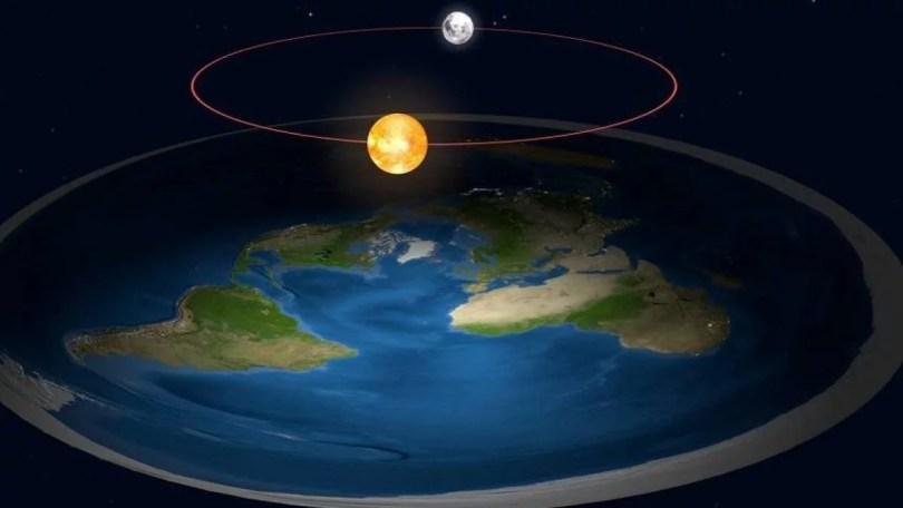 terra plana sol e lua 1 - 7% dos brasileiros acreditam na Terra Plana