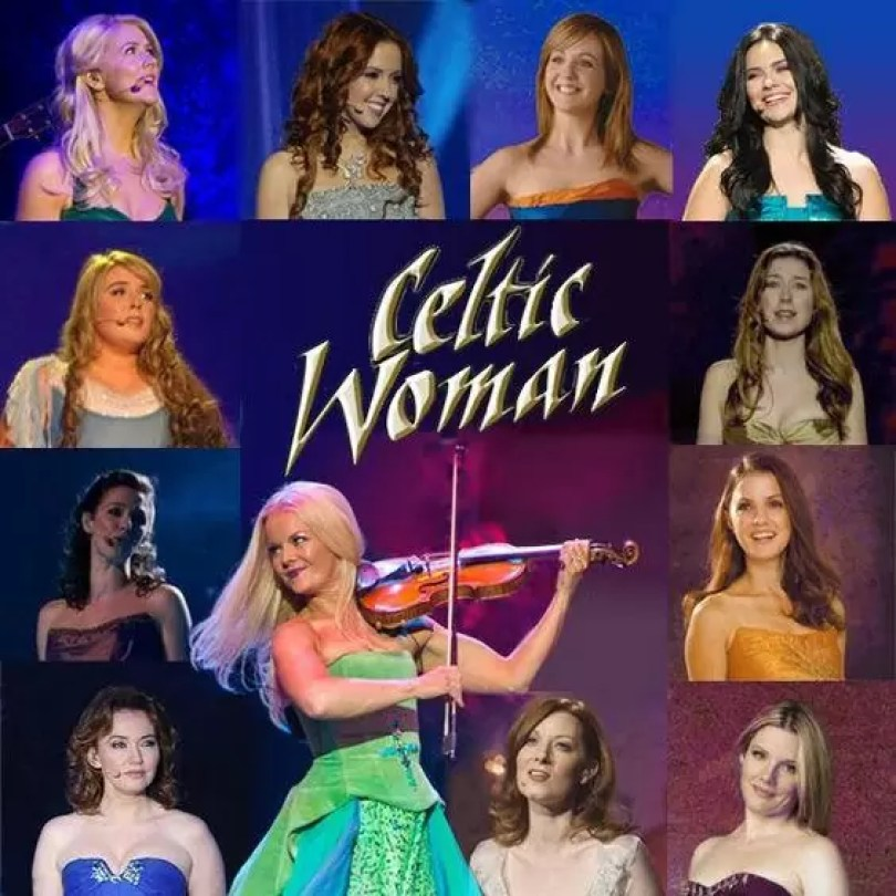 celtic woman cantoras passadas anteriores todas as cantoras violonistas - Celtic Woman: O quarteto Irlandês formado por mulheres talentosas