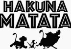 """Hakuna Matata"" Multi-Linguagem"
