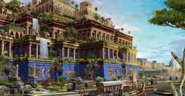 Maravilhas do Mundo antigo babilonia - 7 Imagens Impressionantes das Maravilhas do Mundo Antigo em seu auge