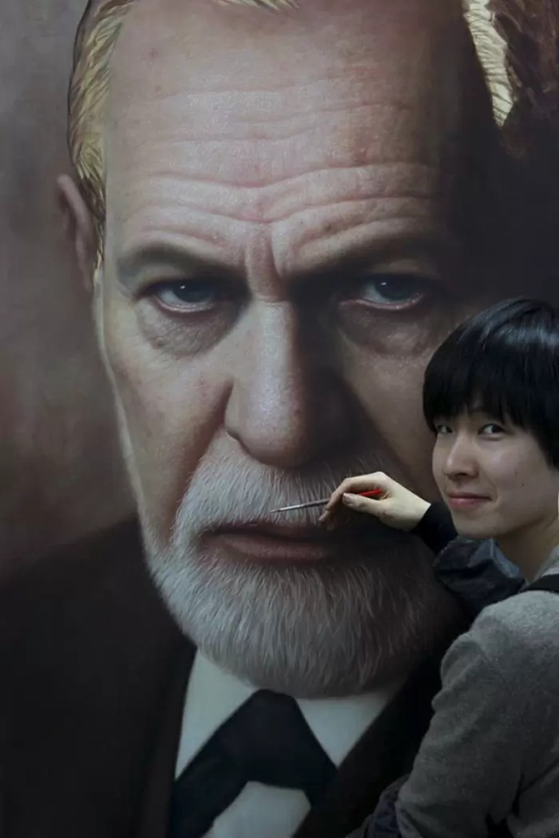 Parece Real Pintor sul coreano faz obras hiper realistas chocantes Joongwon Jeong22 - Parece Real: Pintor sul-coreano faz obras hiper-realistas chocantes!