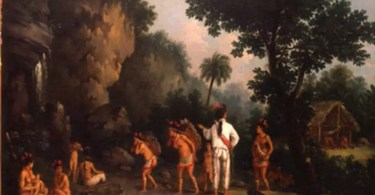 indios escravos - Fotografias raras de Índios que foram levados a Europa como Zoo Humano