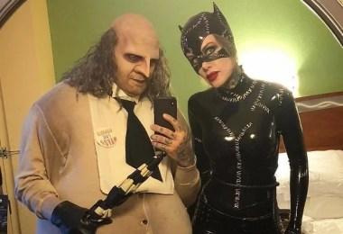 Etimologia halloween - Casais que apavoraram em suas fantasias para o Halloween