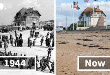Guerras e como são esses lugares hoje - 30 fotos fabulosas durante as Guerras e como são esses lugares hoje