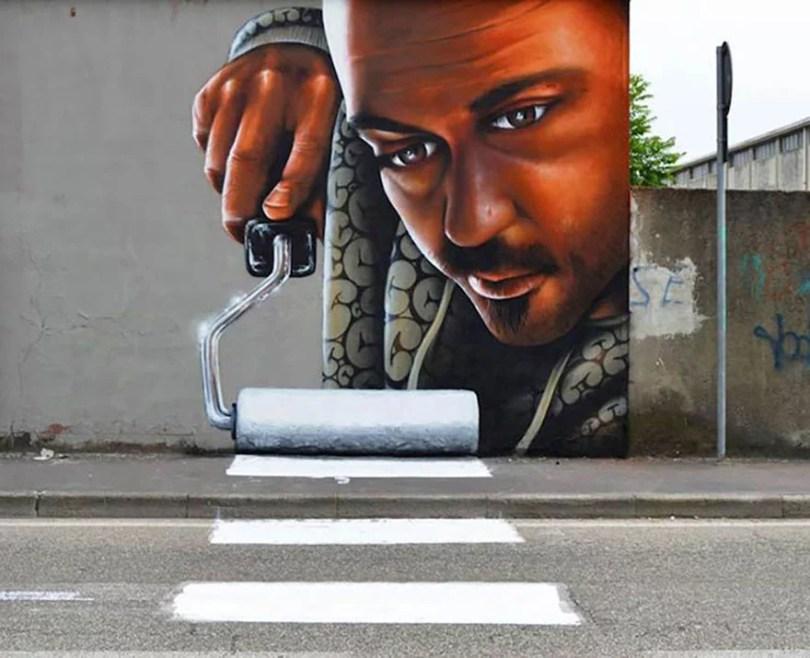 arte de rua em 3D 02 1 - Arte de rua em 3D que mexem com nossa mente!