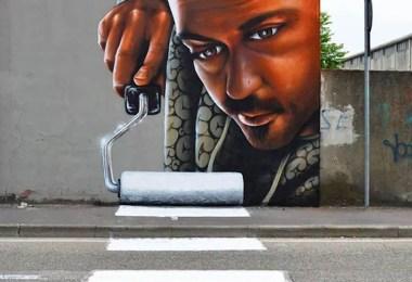 arte de rua em 3D 02 2 - Arte de rua em 3D que mexem com nossa mente!