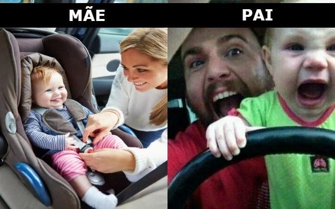 Quando as mães deixam seus filhos sozinhos com os pais - Quando as mães deixam seus filhos sozinhos com os pais