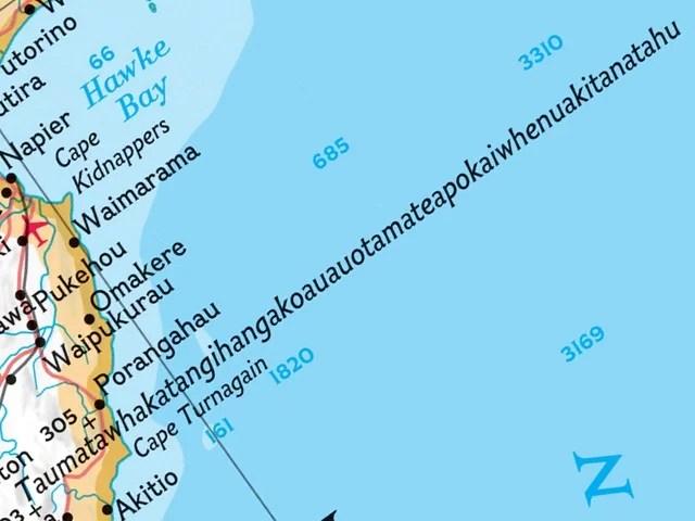 Taumatawhakatangihangakoauauotamateapokaiwhenuakitanatahu 3 - Você irá se surpreender ao ver essas coisas em seu tamanho real