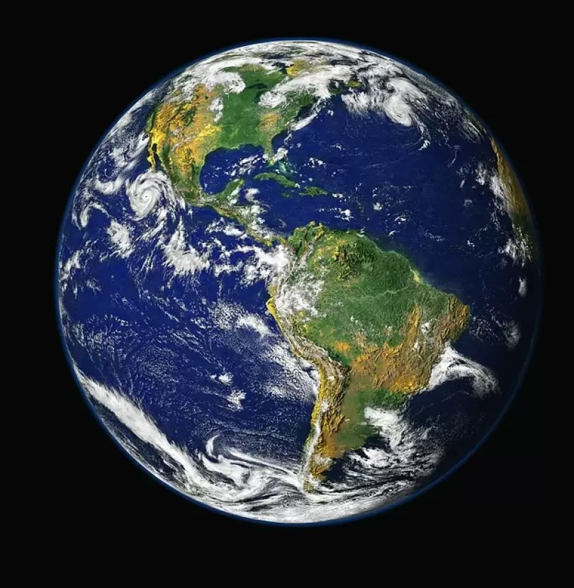 globo planeta terra espaco mundo  - NASA delega pouso humano na Lua a 3 empresas