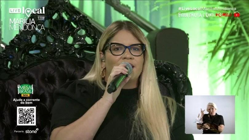 marilia mendonca live - A MAIOR LIVE DA HISTÓRIA Projeto de Lady Gaga com ONG's e OMS tenta quebrar recorde da Internet