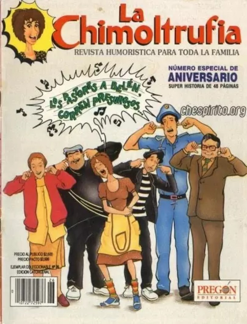 chimoltrufia2 - Os Gibis mais raros e exclusivos de Chaves & Chapolin