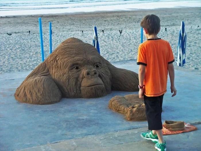 melhor escultor de areia do mundo sand art bull andoni 17 - As impressionantes esculturas realistas de areia de Andoni Bastarrika