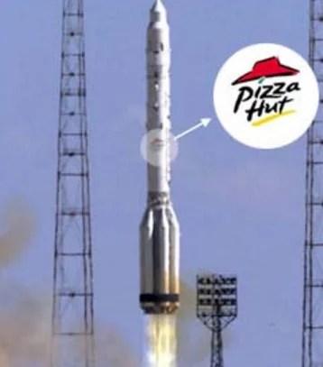 pizza hut delivery primeira entrega comida no espaco 07 - Delivery espacial - A primeira entrega fora do Planeta Terra