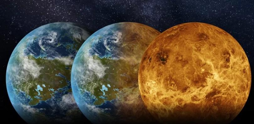 venus misterio habitada - Planeta Vênus teve ligeira condições de abrigar vida durante 3 bilhões de anos