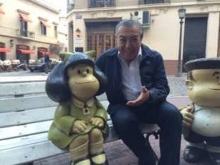 monica mauríco e mafalda - Em 2014 Mônica conhecia Mafalda pela primeira vez