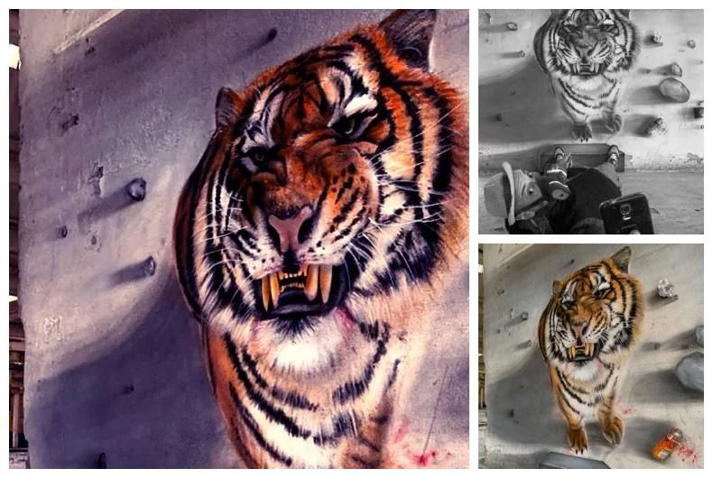 scaf grafiteiro - Os grafites em 3D de Scaf