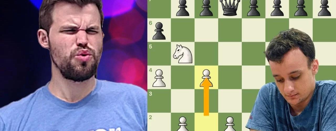 imortal brasileira magnus carlsen perde xadrez