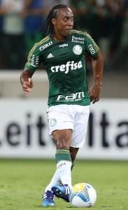 Arouca estreiou bem com a camisa do Verdão e saiu muito aplaudido. Créditos: Cesar Greco/Ag Palmeiras/Divulgação