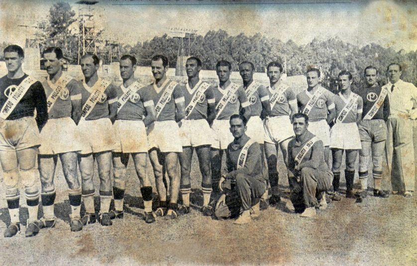 Oberdan defendeu as cores do Palestra Italia/Palmeiras por 351 partidas, figurando até hoje entre os jogadores que mais atuaram pelo clube (Divulgação)