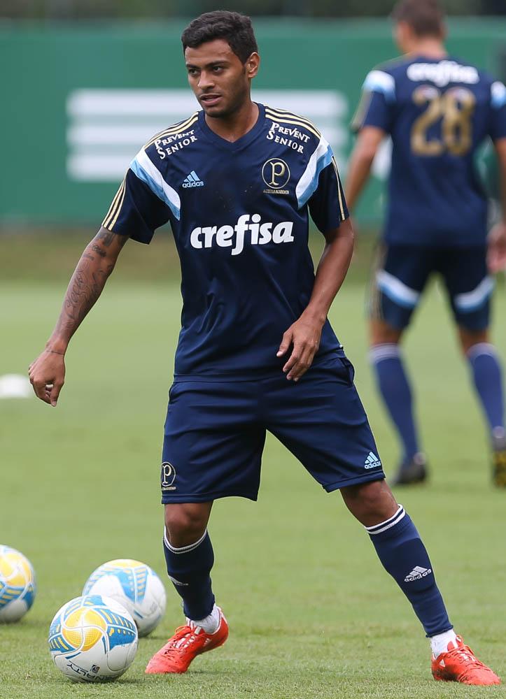 Cleiton Xavier está em estágio final de recuperação e em breve deve estreiar pelo Verdão. (Cesar Greco/Ag. Palmeiras/Divulgação)