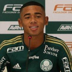Passado e futuro, Valdivia e Gabriel Jesus – hoje lado a lado no Palmeiras!