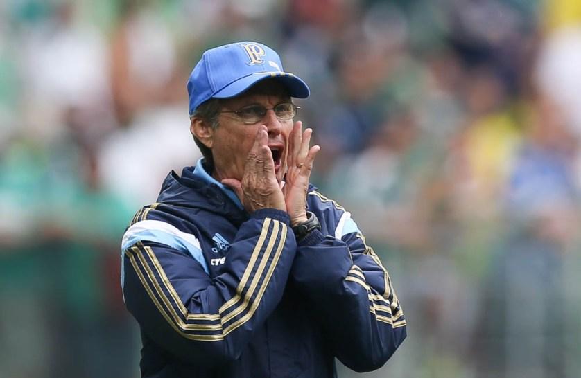 Após repousco, Oswaldo está pronto para voltar à beira do campo (Cesar Greco/Ag, Palmeiras/Divulgação)