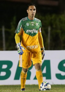 Prass fez três grandes defesas na partida. (Cesar Greco/Ag Palmeiras/Divulgação)