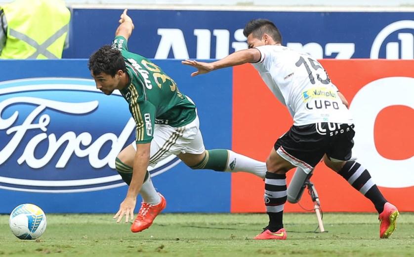 Ryder aprovou a própria estreia no Paulistão e destacou a importância de mais um triunfo do clube (Cesar Greco/Ag Palmeiras/Divulgação)