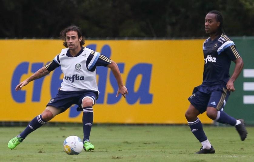 Recuperado da lesão, Valdivia sentiu falta do ritmo de jogo. (Cesar Greco/Ag. Palmeiras/Divulgação)