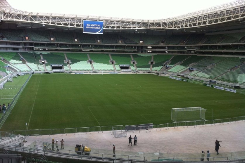 Palmeiras jogará pela terceira vez no Brasileiro às 11h. (Divulgação)