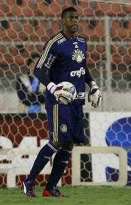Estreante com a camisa do Verdão no Paulistão, Aranha afirmou que brigará por vaga. (Cesar Greco/Ag. Palmeiras/Divulgação)