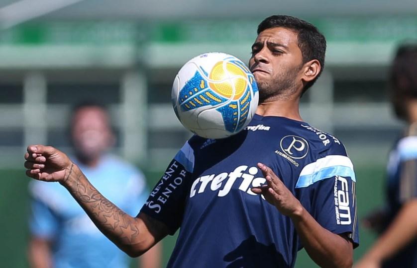 Cleiton Xavier ainda não foi apresentado oficialmente pelo Palmeiras, mas deve ser reforço na sequencia do Paulista. (Cesar Greco/Ag. Palmeiras/Divulgação)