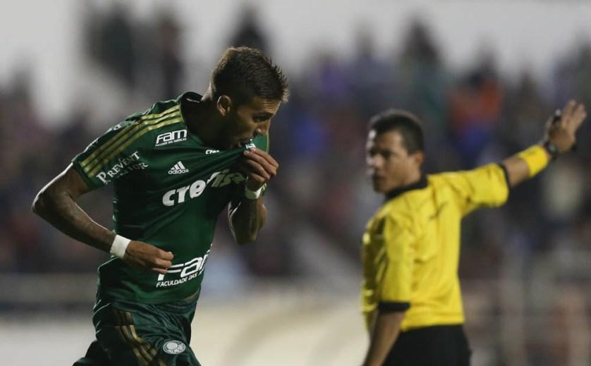Rafael Marques pode ser testado como centroavante (Cesar Greco/Ag. Palmeiras/Divulgação)