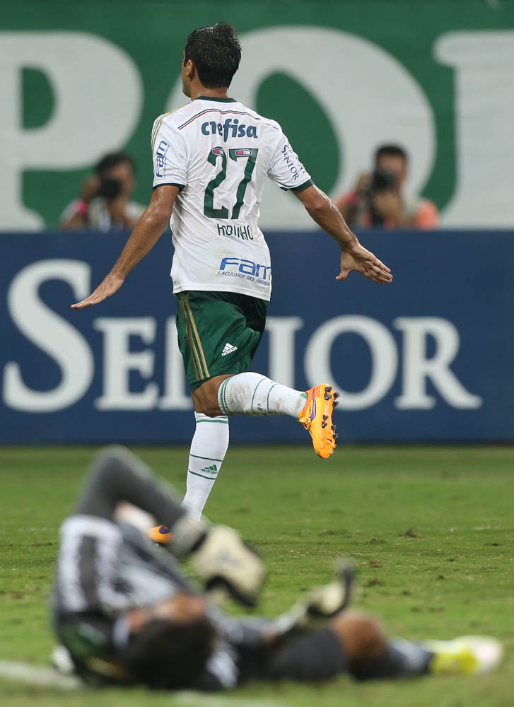 Robinho vive fase de artilheiro pelo Palmeiras (Cesar Greco/Ag Palmeiras/Divulgação)