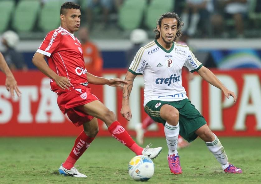 No sábado, Valdivia fez sua estreia na temporada e recebeu elogios dos companheiros. (Cesar Greco/Ag. Palmeiras/Divulgação)