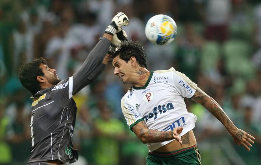Expulsão de Vitor Hugo deve manter Victor Ramos no time titular (Cesar Greco/Ag. Palmeiras/Divulgação)